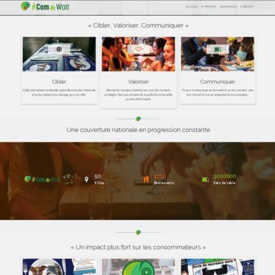 #Com&Wait, régie pub spécialisée dans le «Wait Marketing»